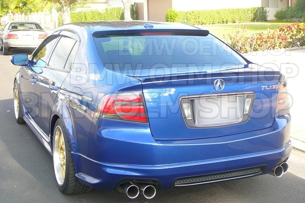 Acura TL Sedan Rear Window Spoiler TL Mythgenorg - Acura tl spoiler