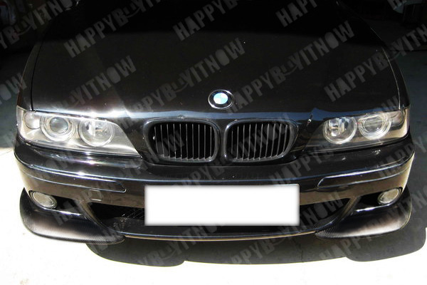 painted bmw e39 m5 a type add on front bumper lip spoiler. Black Bedroom Furniture Sets. Home Design Ideas