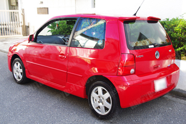 painted volkswagen lupo 3l 2pcs rear roof spoiler 99 05 ebay. Black Bedroom Furniture Sets. Home Design Ideas