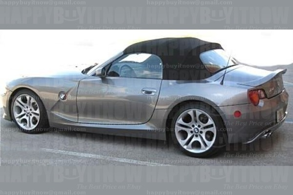 03 08 Painted Bmw Z4 E85 Oe Type Trunk Boot Spoiler Wing